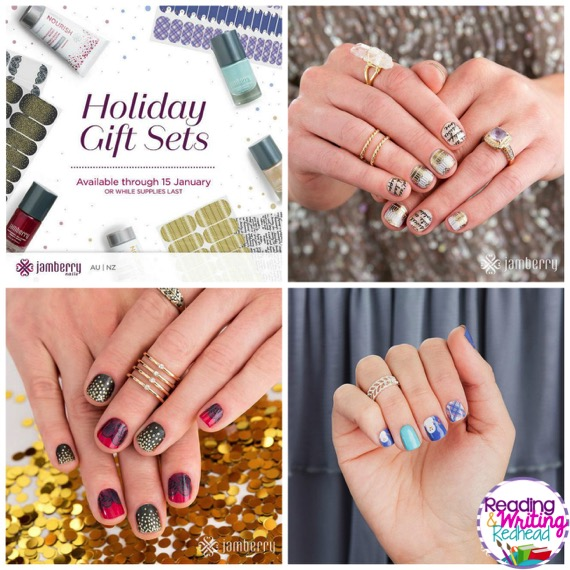 Jamberry Holiday Style AND a Giveaway