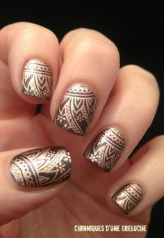 12 most beautiful and gorgeous nail art designs for navratri nail art design for navratri prinsesfo Images