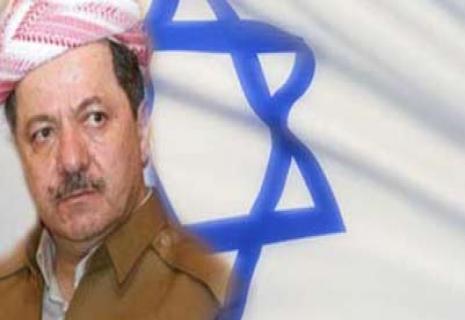 مسعود بارزانی یهودی صهیونیست؛ کردستان دولت یهودی صهیونیست