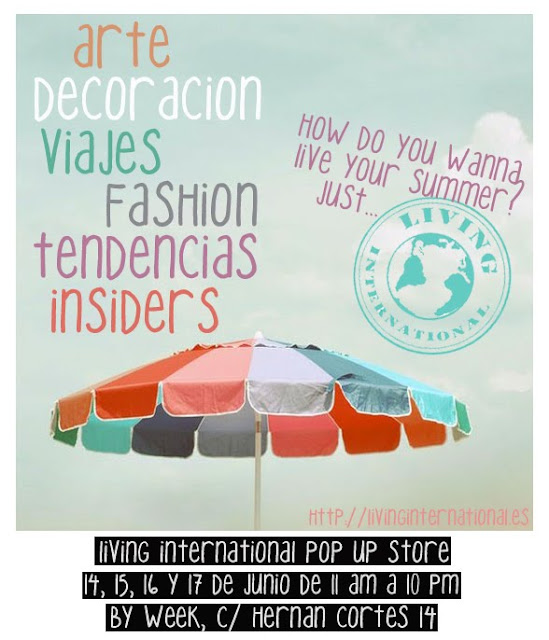POP UP LIVING INTERNATIONAL -OUTLET VERANO