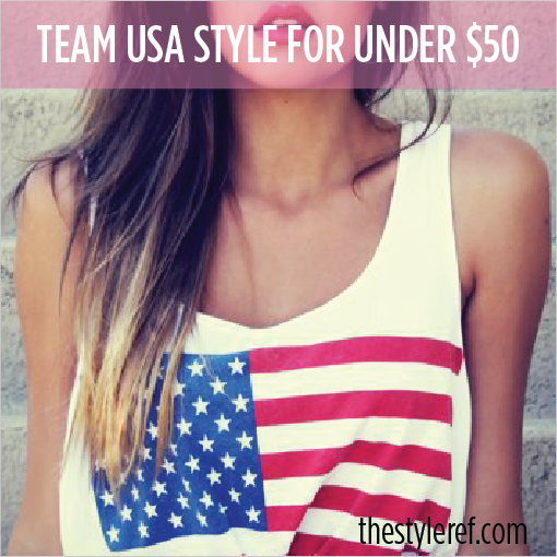 Team USA style for under $50
