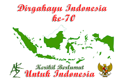 Dirgahayu Republik Indonesia ke-70 Kerikil Berlumut Untuk Indonesia