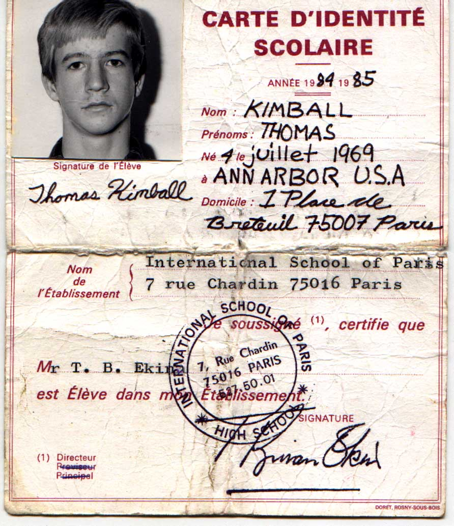 International School of Paris Alumni