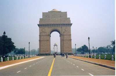 India Gate in the day time