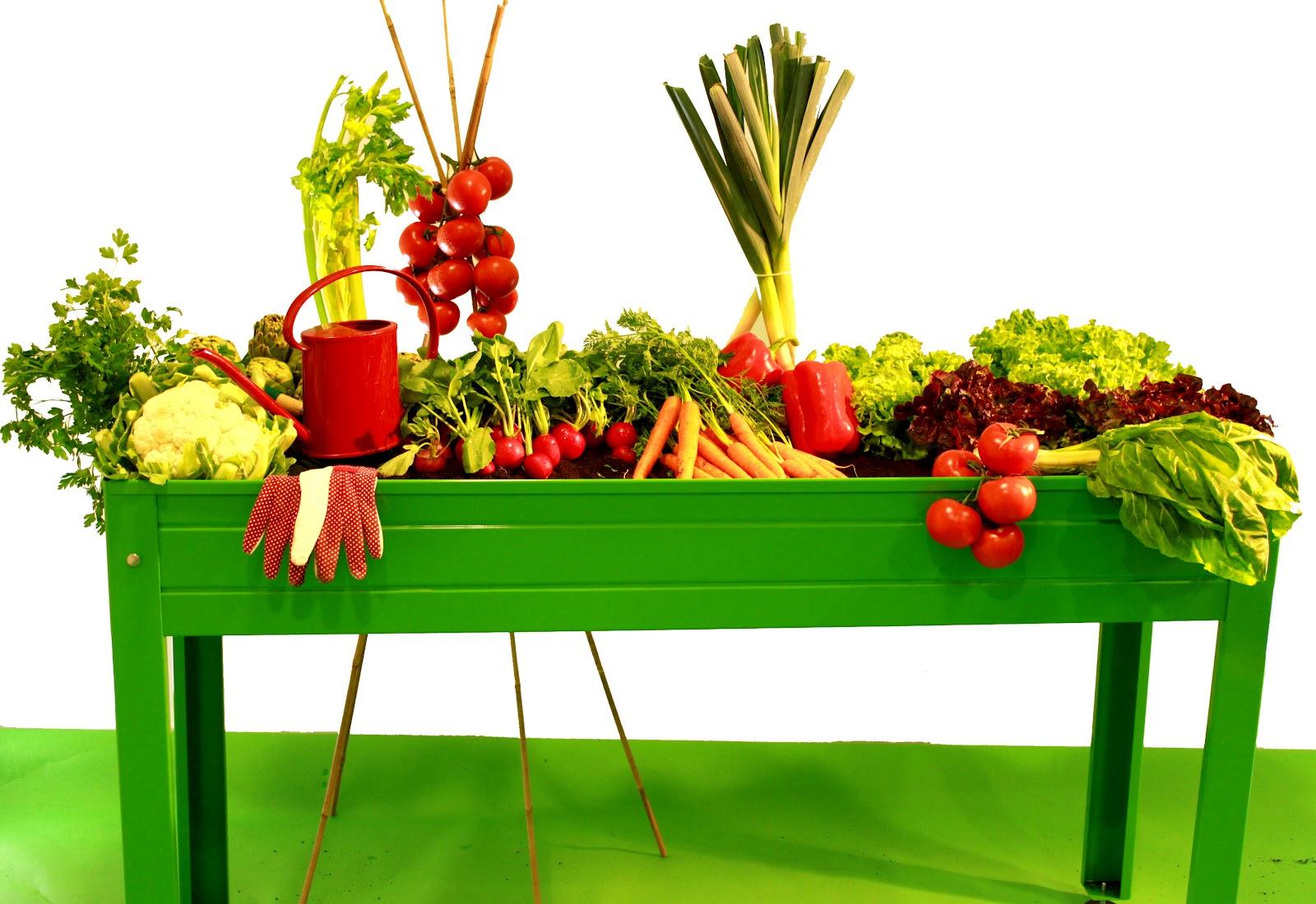 Missjardin mesas de cultivo para huertos urbanos - Huertos urbanos ikea ...