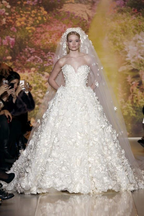 les plus belles robes de mariees haute couture s/s 2014 | mon bo
