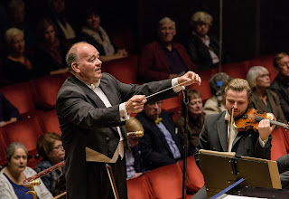 Marc Soustrot conducting the Royal Stockholm Philharmonic Orchestra