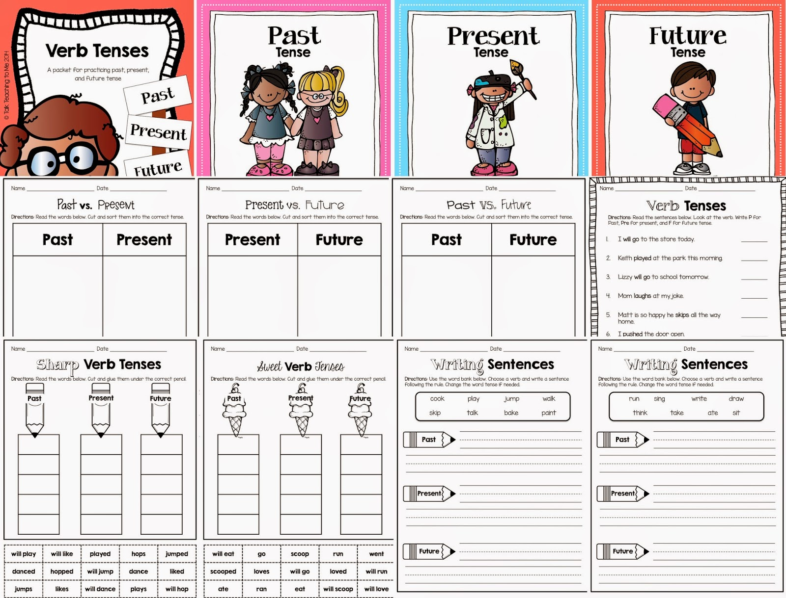 verbs tenses Looking for verb tense worksheets we've got lots of them, all available for free download click here to start now - no registration required.