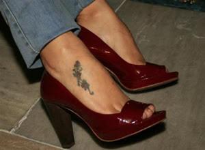 Desenhos de Tatuagens no Pé