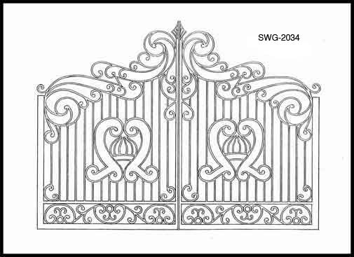 Gate Design Ideas wrought iron fence ideas decorative wrought iron fence gates awesome driveway gate designs gate design Iron Gate Design Ideas Types Of Gate Design Ideas