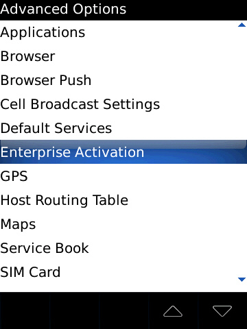 how to get enterprise activation password