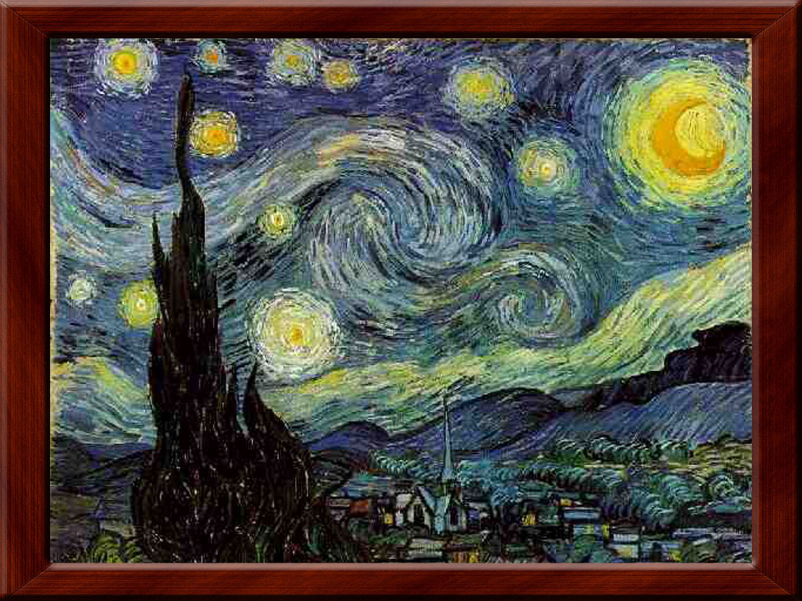 wallpapers van goghs starry night