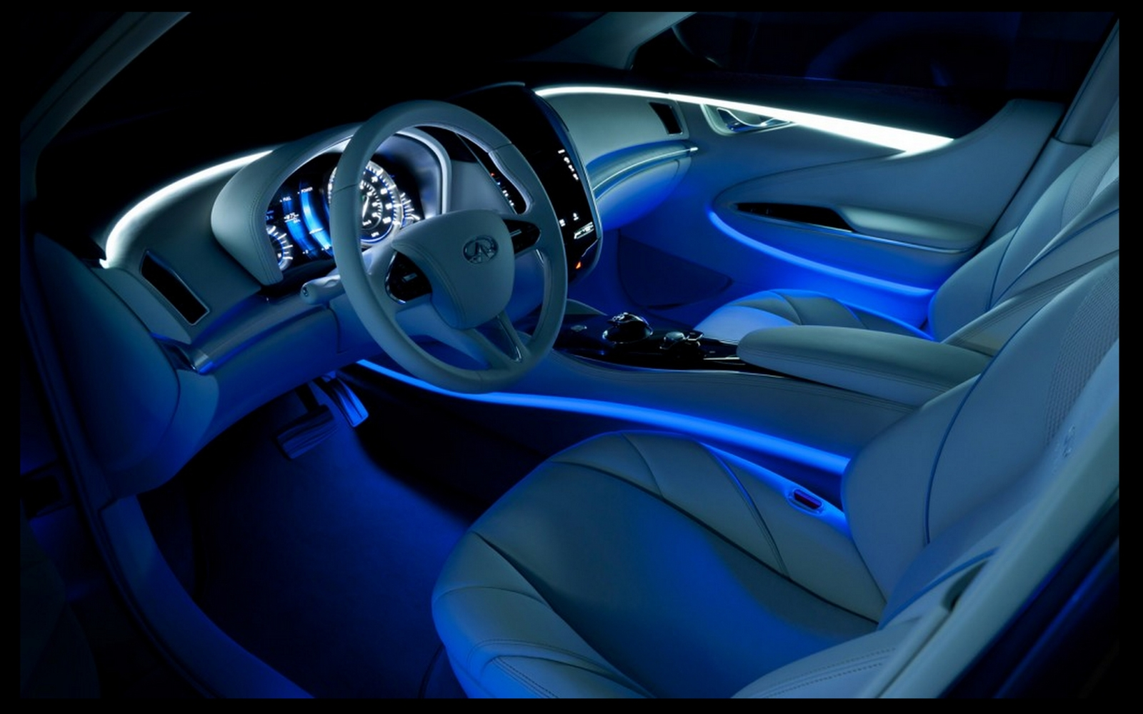 Innovative interior lighting creates style and ambience that car ...