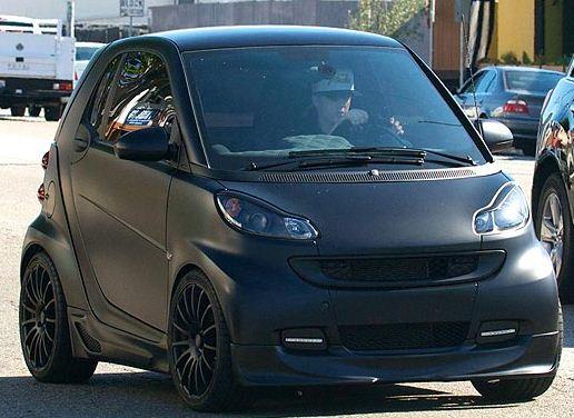 Justin Bieber S New Swag Car Black Matte Smart Fortwo Eminent Cars