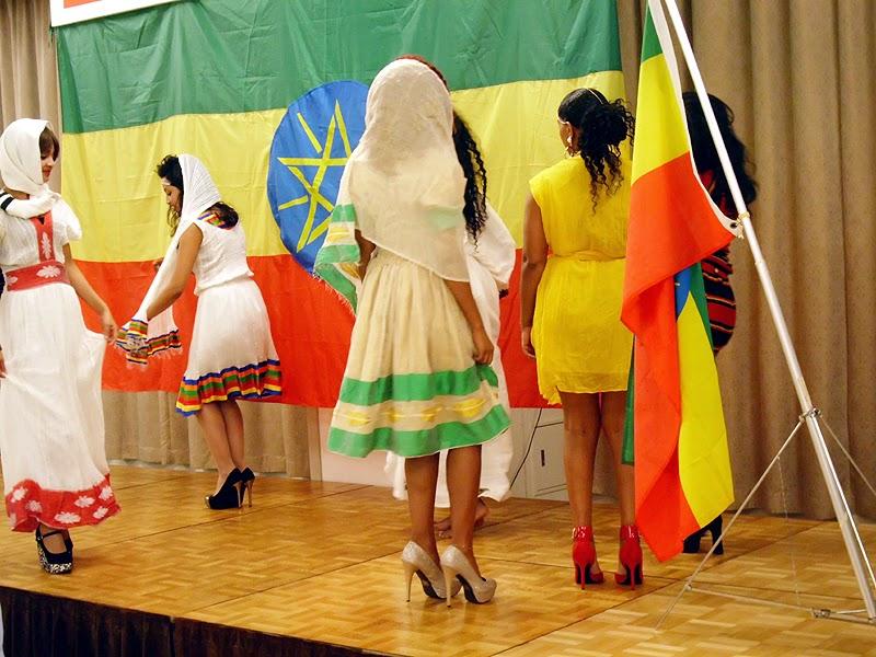 エチオピア民族衣装