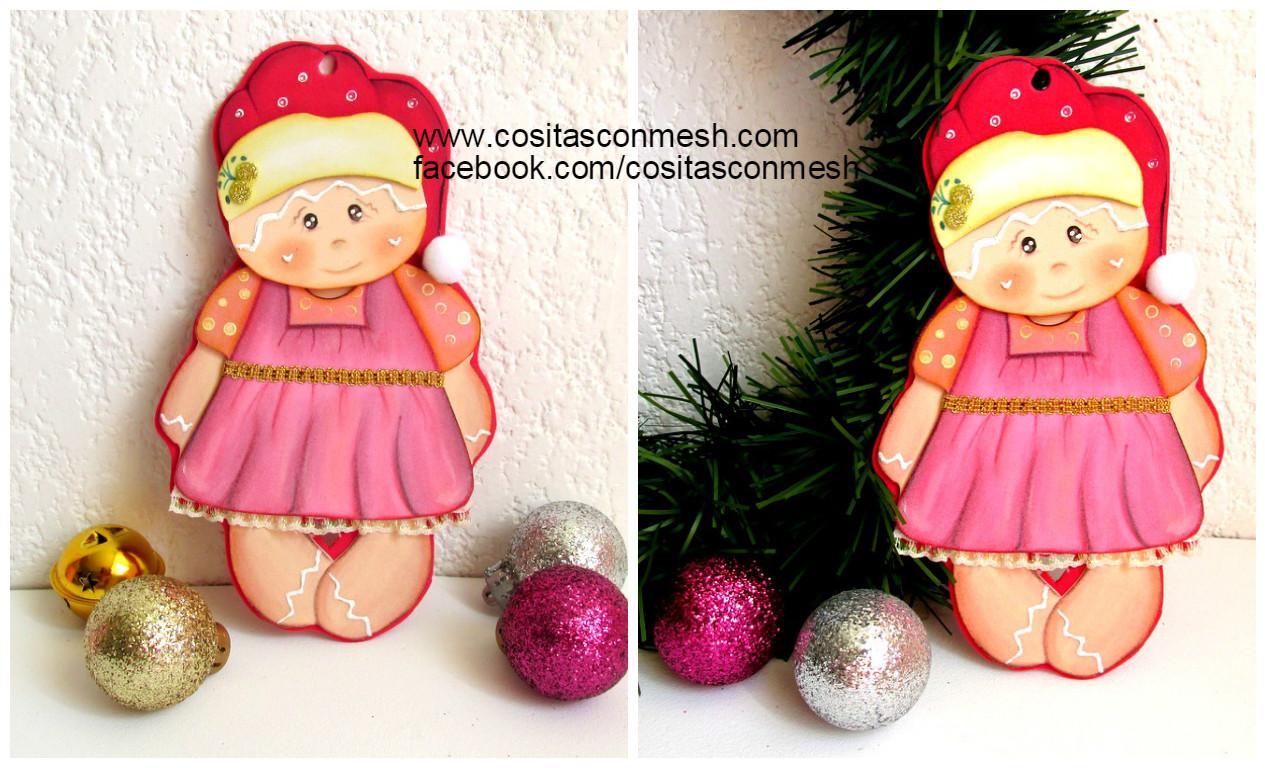 C mo hacer un adorno navide o en foami paso a paso - Como hacer adornos de navidad paso a paso ...