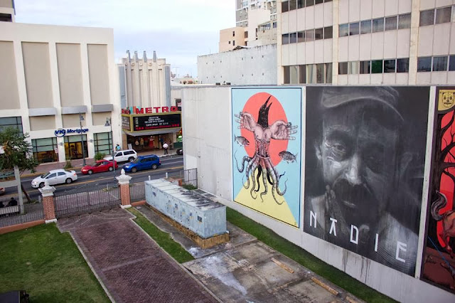 Street Art By Axel Void For Los Muros Hablan 2013 In San Juan, Puerto Rico. 3