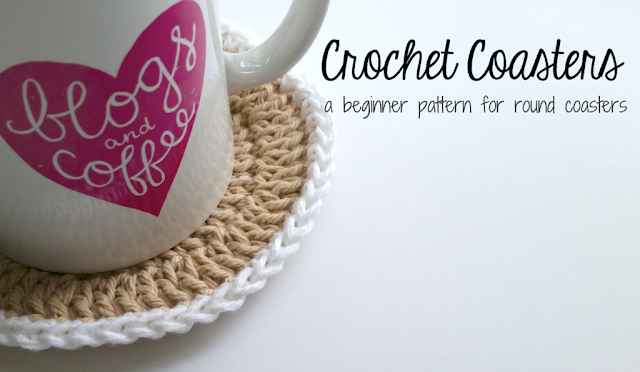 Crochet Coasters | theknittedhome.com