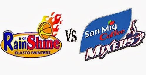 ROS vs San Mig Coffee Mixers Game 2