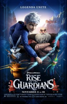Rise of the Guardians 2012 Poster