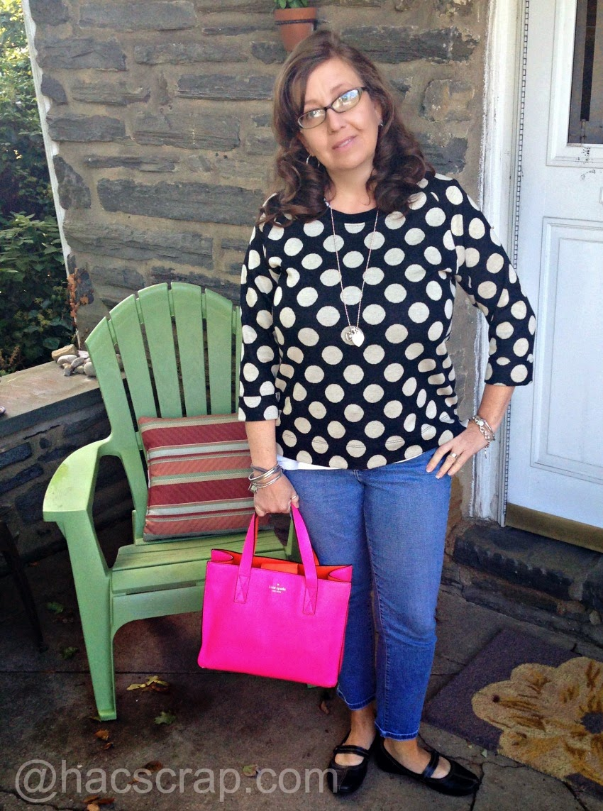 Mid-Life Mom Style - Casual Fall Outfit | My Scraps