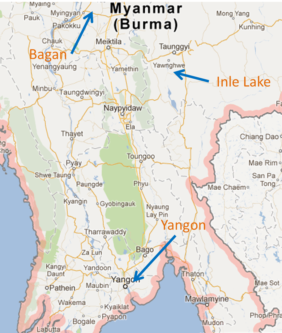 Myanmar Map With Cities - Burma map hd pdf