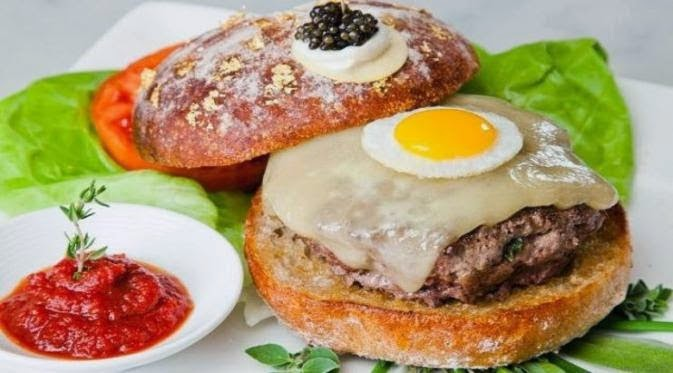 Burger Paling Mahal di Dunia dengan Bahan Langka
