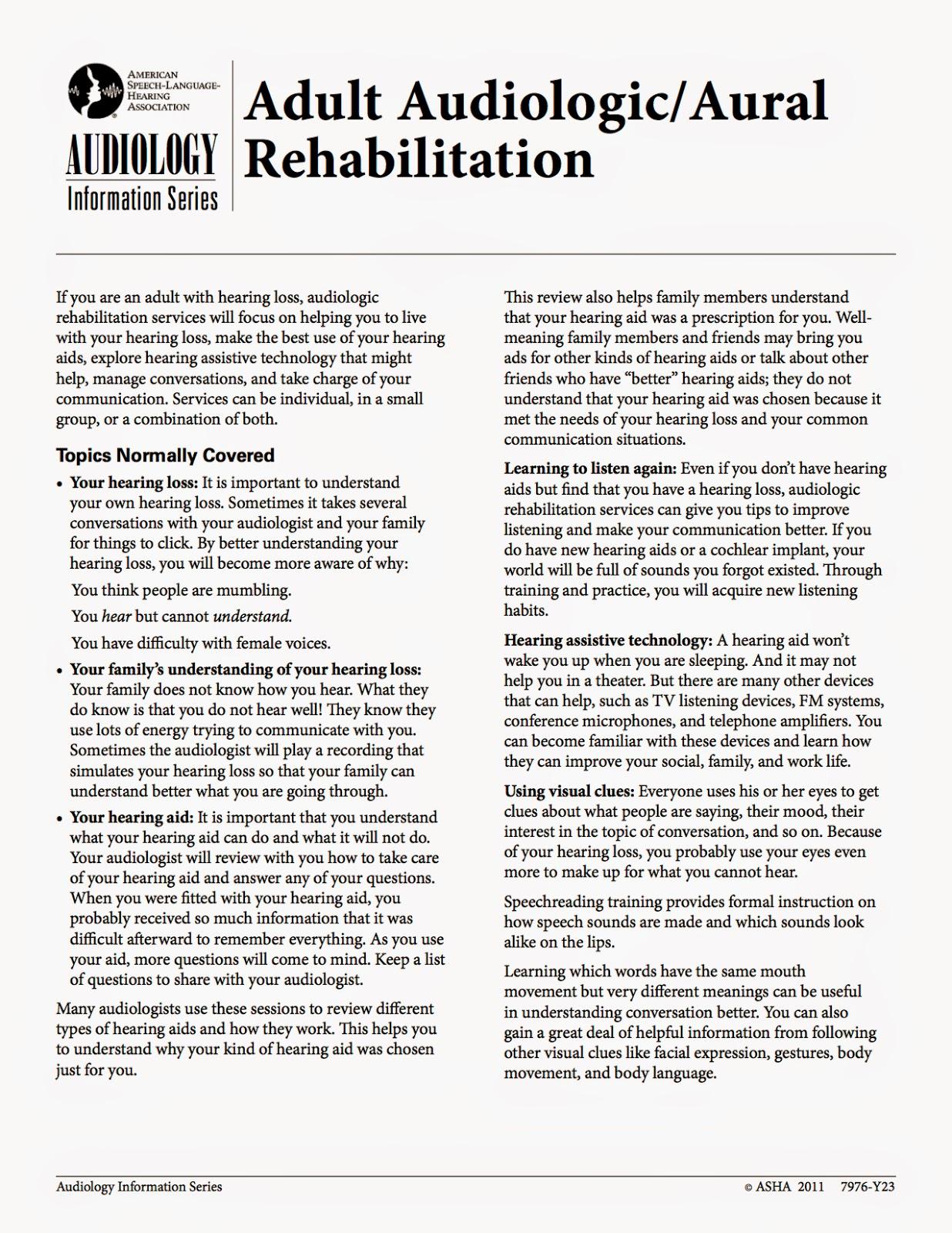Adult aural rehabiitation pics 403