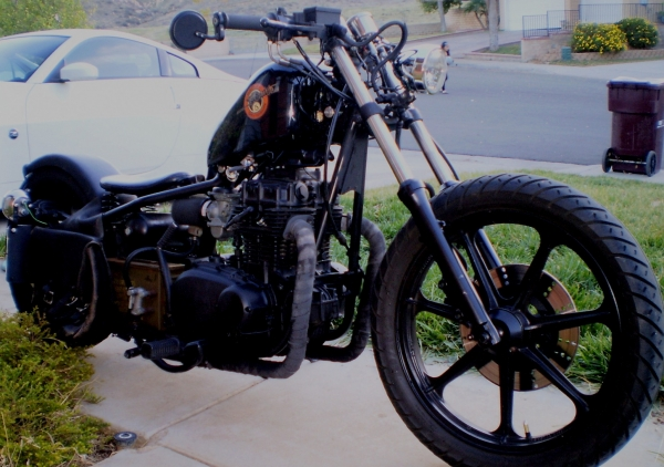 Used To Love My 1979 Kz400 Bobber I Sold It Like A Dumb Ass
