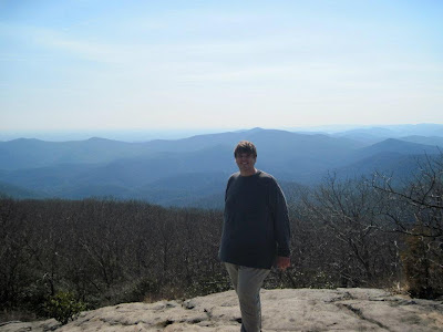 Proof I was atop Blood Mountain...or at least near the top, not sure if that is the actual summit.