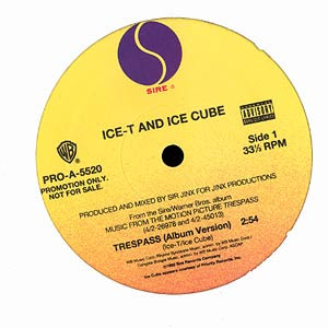 Ice-T & Ice Cube – Trespass (Promo VLS) (1992) (320 kbps)
