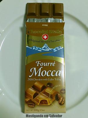 Chocolats Merveille Suisse: O Chocolate Fourré Mocca da marca Chocolats Stella
