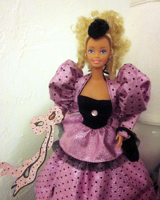 Mardi Gras Barbie, American Beauty Collection, 1987, #4930, Mattel