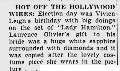 That Hamilton Woman, Laurence Olivier, Vivien Leigh