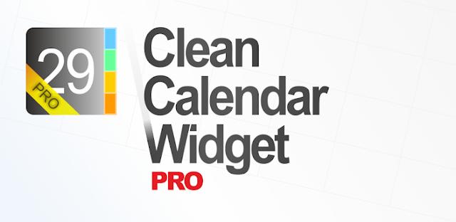 Clean Calendar Widget Pro v4.12