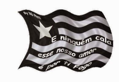 Tô nervoso, tem jogo do Botafogo