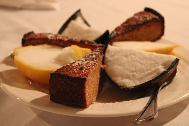 Desserts at Lucia Ristorante, Boston, Mass.