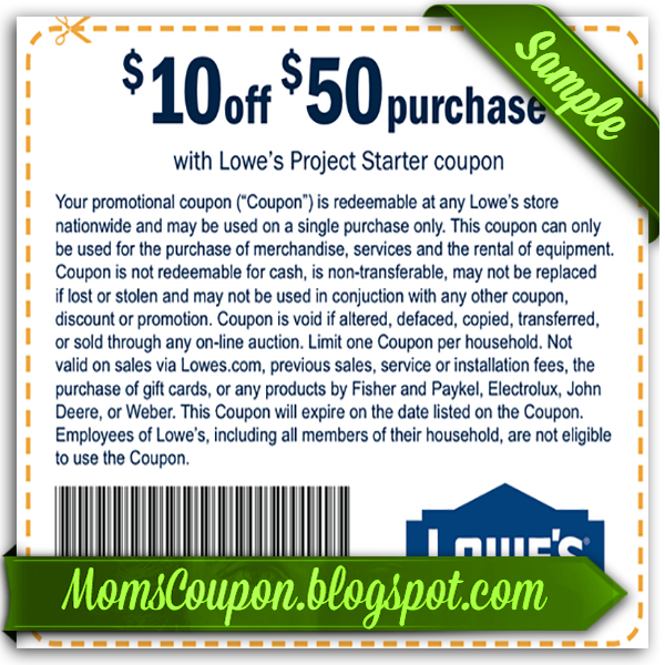 Lowes 10 coupon codes