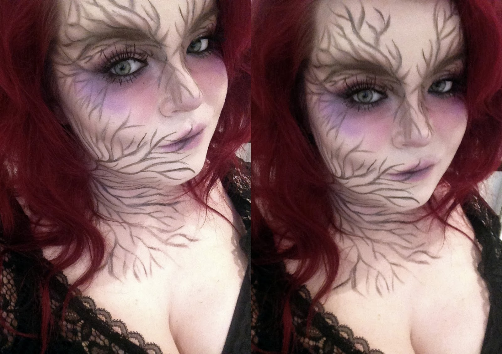Nature Witch Halloween Look.