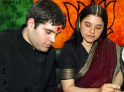 "MP Maneka Gandhi said, ""I went to get my UID but someone else signed on my behalf."""