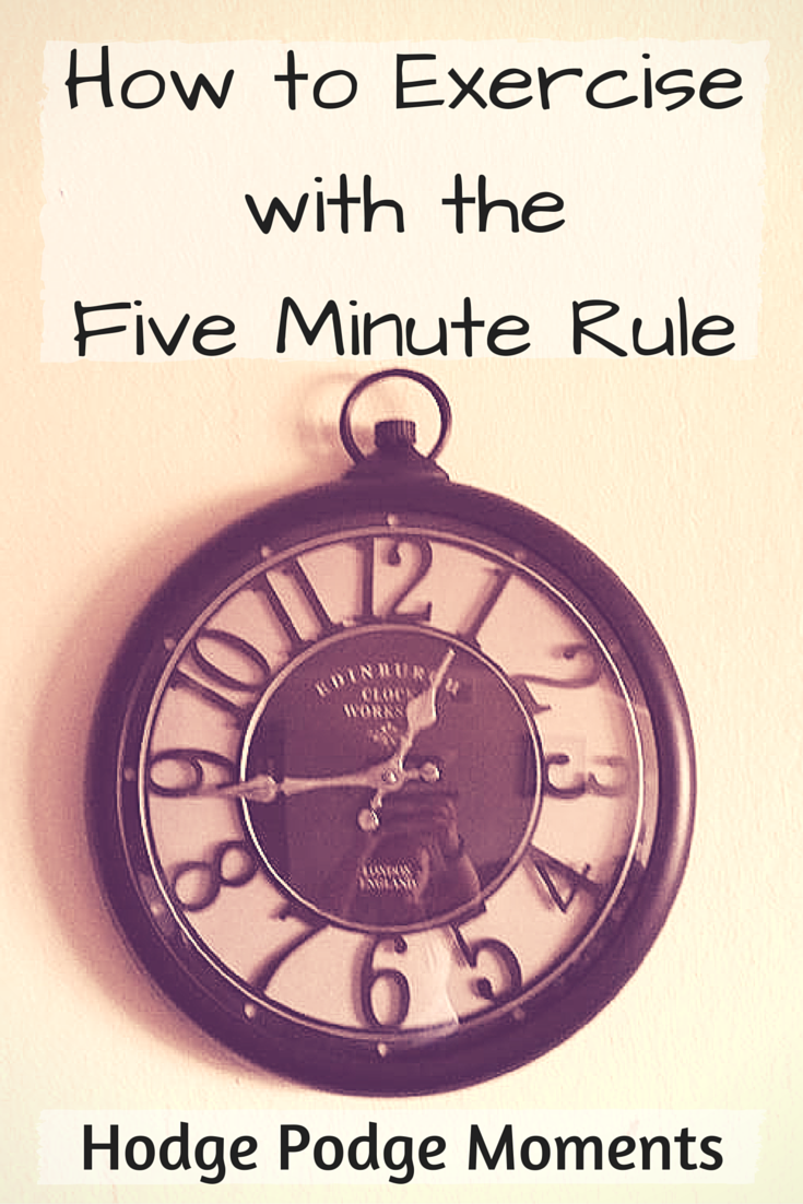 The Five Minute Rule