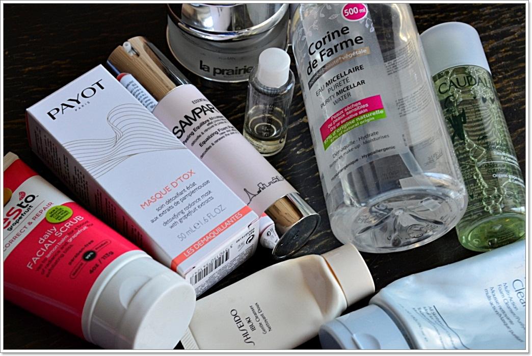 E_katerina: глобальный пост об очищении кожи (Estee Lauder, Shiseido, Corine de Farme, Payot, Yes to!, Sampar, Caudalie, La Prairie, Shu Uemura)
