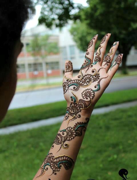 Mehndi Designs  New Style Simple