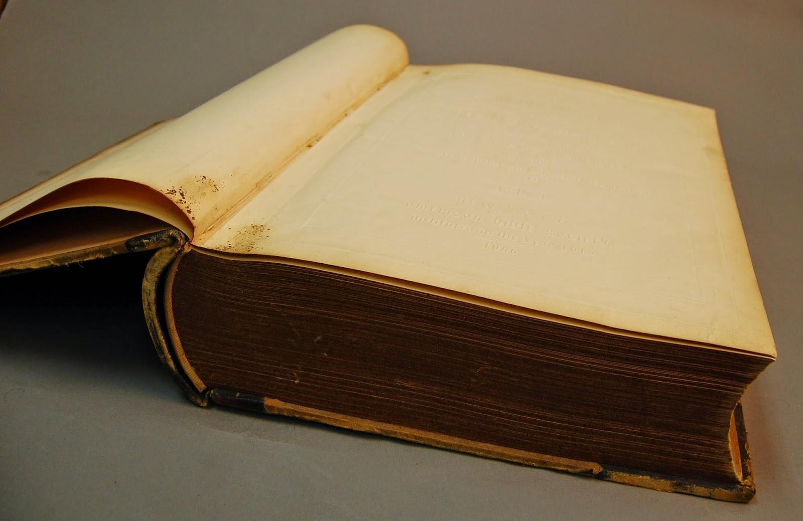 1846 American Bible Society Bible