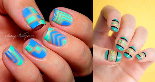 Negative Space, nail art, giovanna antonelli