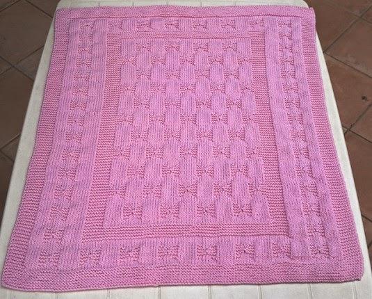 Pink bows - Free Pattern