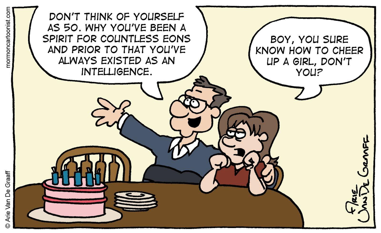 Mormon Cartoonist Birthday Wishes – Comic Birthday Greetings