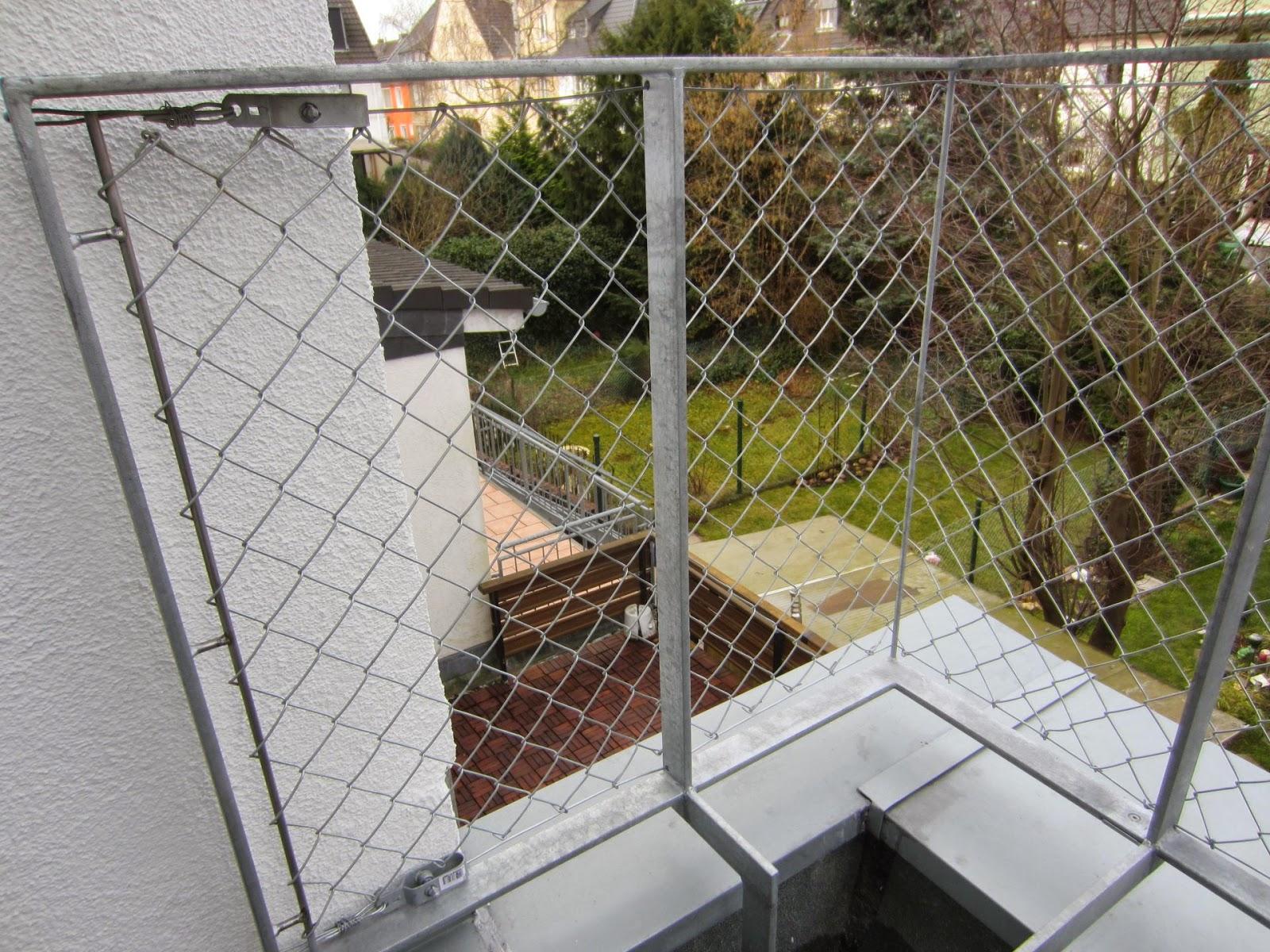 Terrassen - und Treppengeländer mit Maschendraht | FRÖBEL METALLBAU