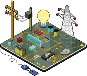 Resultado de imagen de Electricidad y electrónica