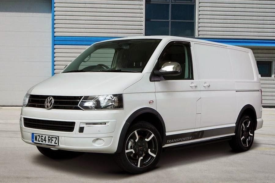Volkswagen Transporter Panel Van With 60 Anniversary Pack (2014) Front Side